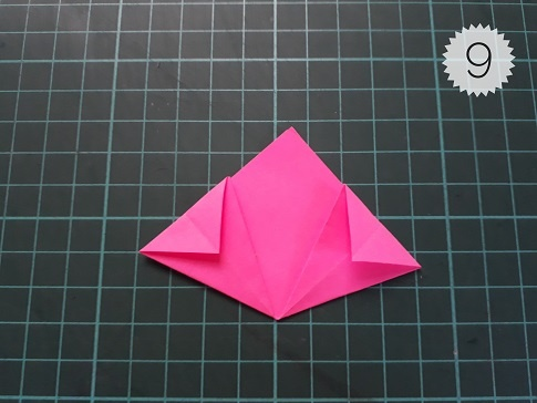 Picture Tutorial Kusudama Flower