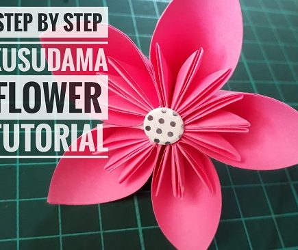 Step By Step Kusudama Flower Tutorial