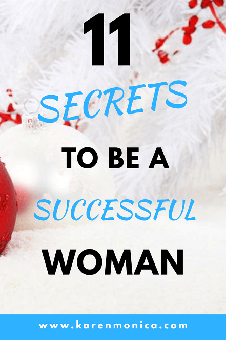 11 secrets to be a successful woman