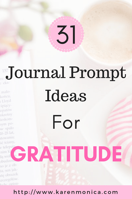 Journal Prompt Ideas For Gratitude
