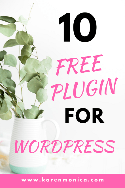 10 Free Plugins For WordPress