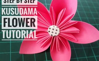 Step By Step Kusudama Flower Tutorial