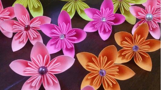 How To Make A Kusudama Flower