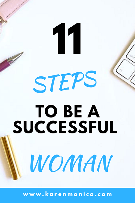 11 Steps To Be A Successful Woman