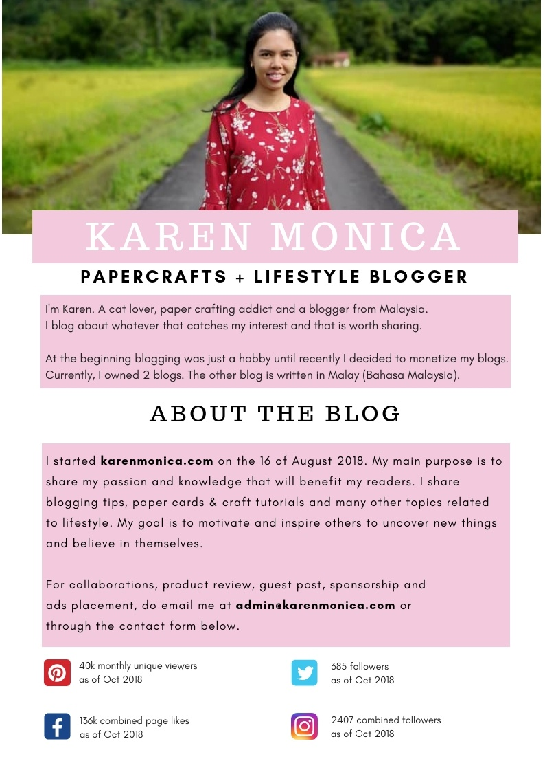 Media Kit for karen monica
