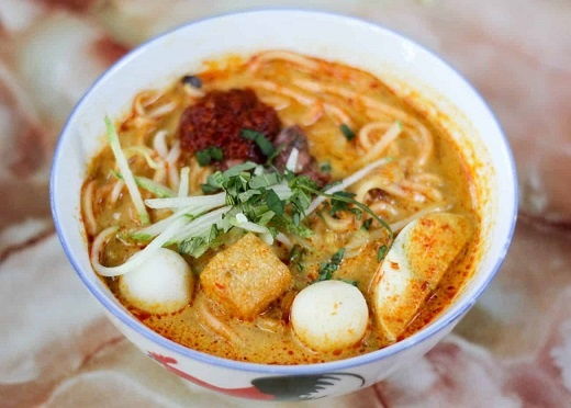 Curry Laksa or Nyonya Laksa