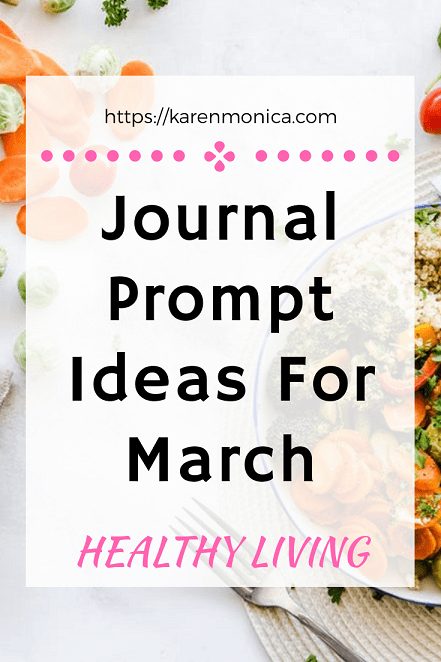 Journal Prompt Ideas For Healthy Living