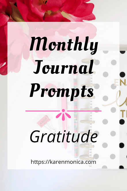 Monthly Journal Prompt For April