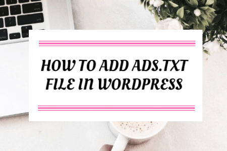 How To Add Ads.txt file in wordpress
