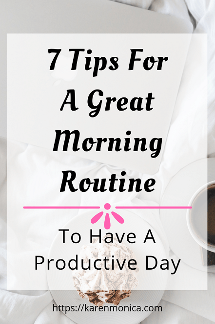Simple Morning Routine For A Productive Day