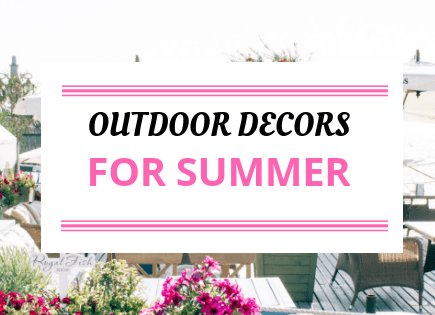 Outdoor Decorations To Buy This Summer