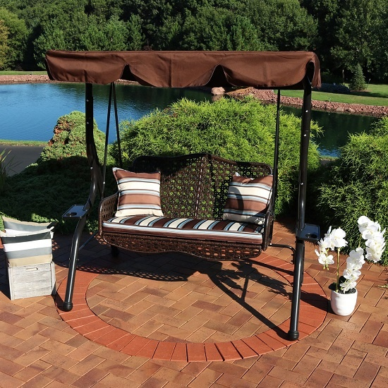 Outdoor Decorations To Buy This Summer a rattan swing
