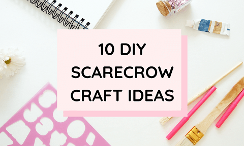 DIY Scarecrow Craft Ideas For Kids