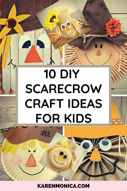 10 DIY Scarecrow Craft Ideas For Kids