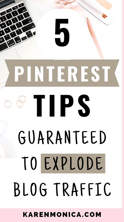 Pinterest Tips To Explode Blog Traffic