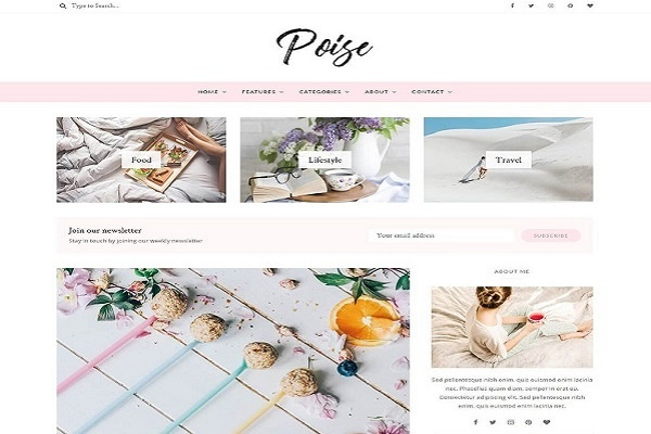 Poise By Lucid Theme