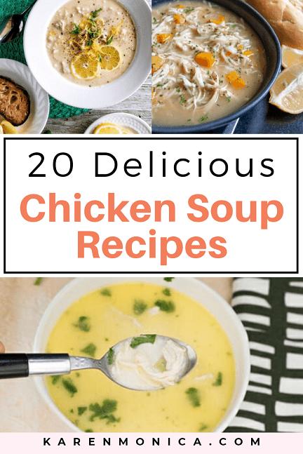 20 Homemade Chicken Soup Recipes