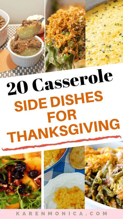 20 Delicious Casserole Side Dishes Recipes For Thanksgiving