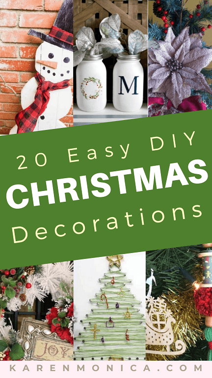 The Best 20 DIY Christmas Decoration Ideas