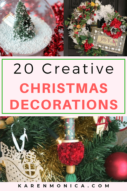 On A Budget 20 DIY Christmas Decoration Ideas
