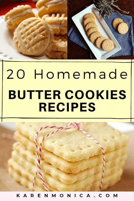 20 Easy Butter Cookies Recipes