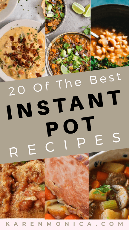20 Easy Instant Pot Recipes From Scratch