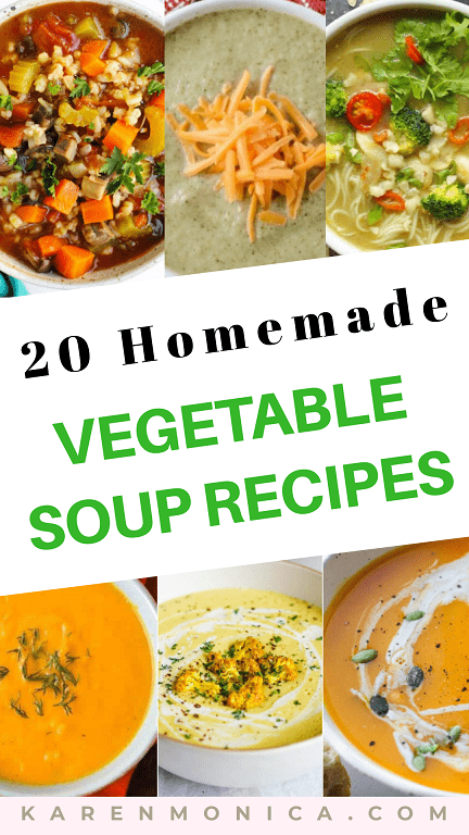 20 Healthy Vegetable Soup Recipes