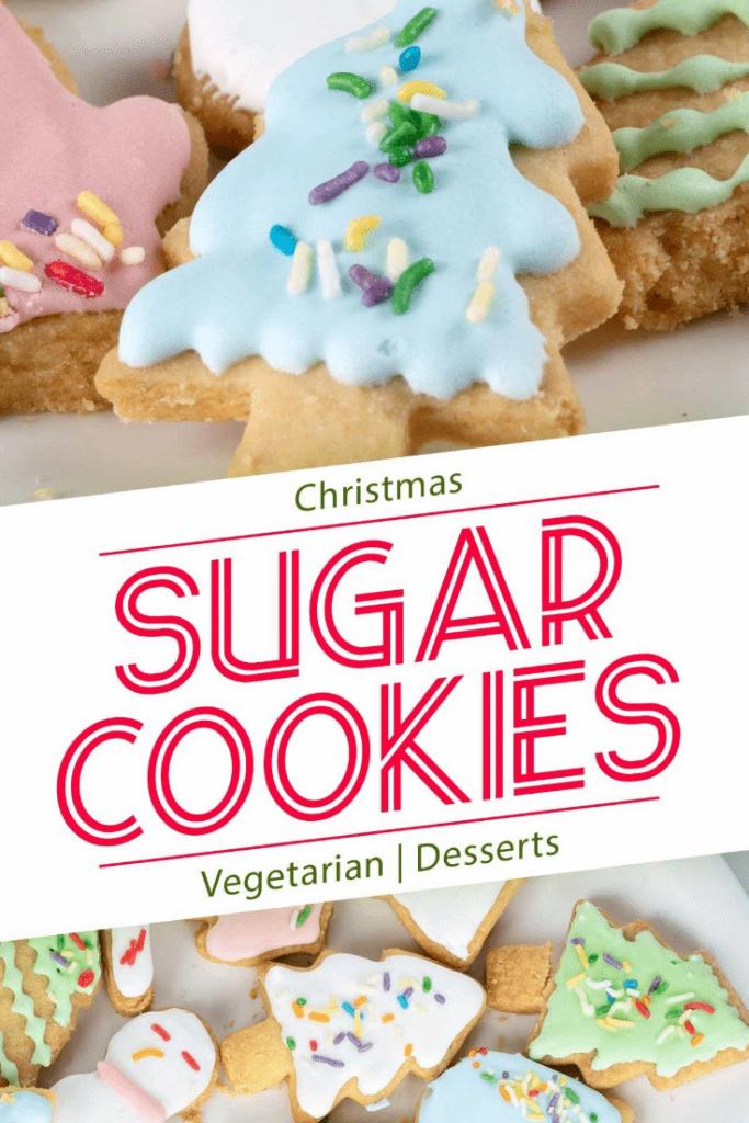 Home-made sugar cookies