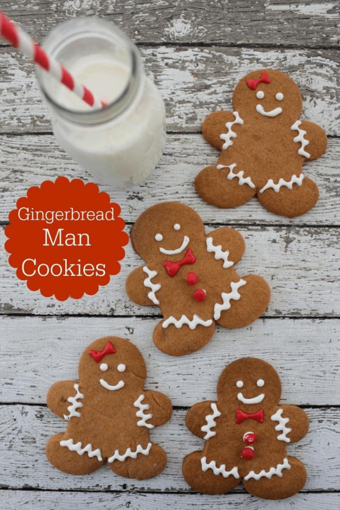 Easy gingerbreadman cookies recipes