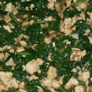 Chicken Stir Fry With Spinach And Ginger