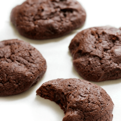 Double Chocolate Chunk Brownie Cookies