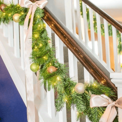 Faux Christmas Garland