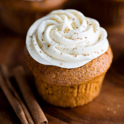 Small Batch Pumpkin Cupcakes