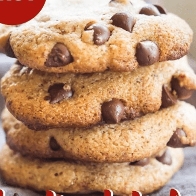 The Best Chewy Paleo Chocolate Chip Cookies