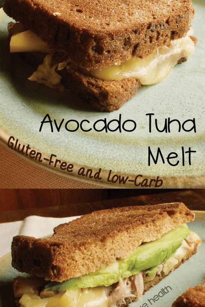 avocado tuna melt sandwich