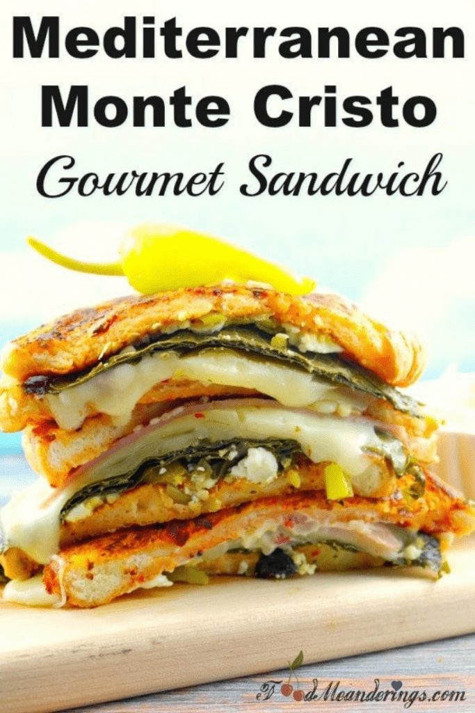 the mediterranean gourmet sandwich
