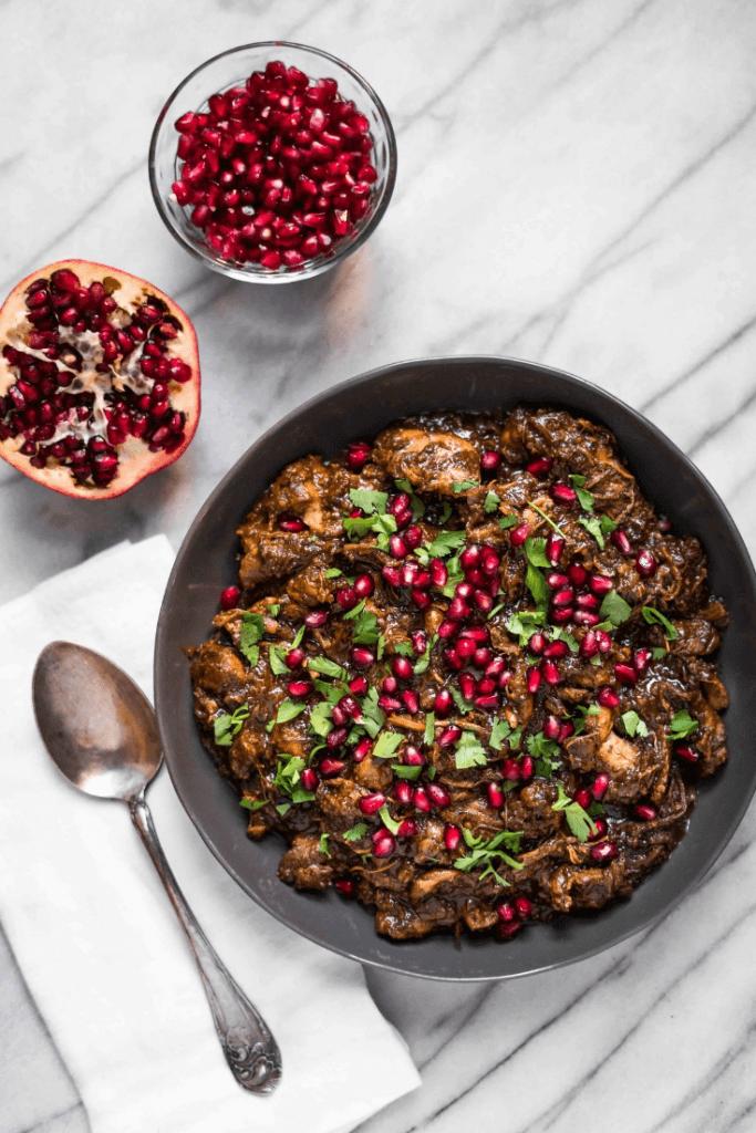 Persian Pomegranate Chicken recipe