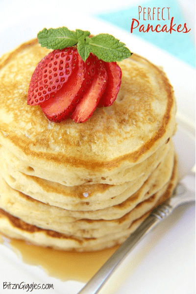 the perfect pancakes recipe