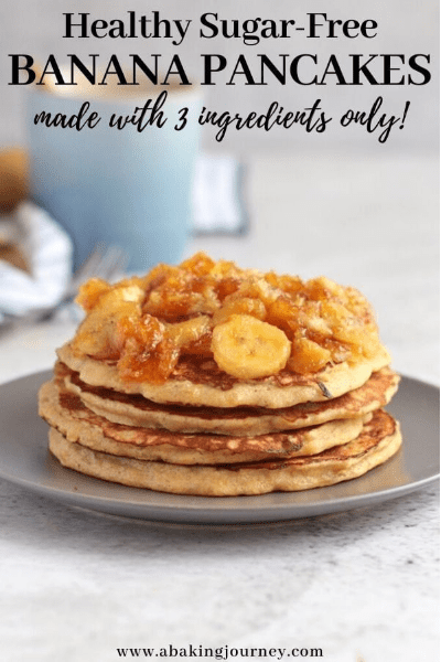 healthy banana pancake