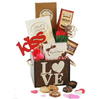 valentine gift basket ideas
