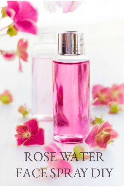 diy rose water spray