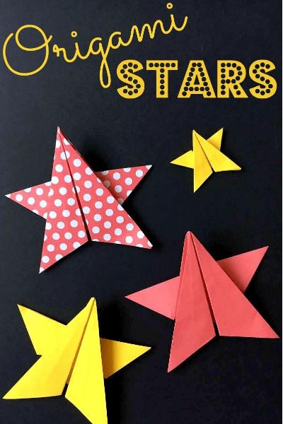 easy paper stars
