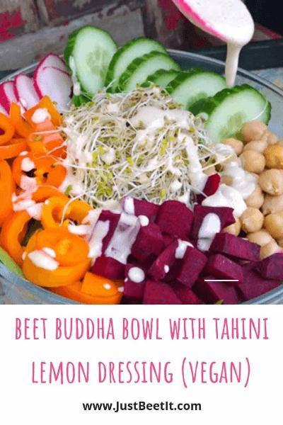 beet buddha bowl