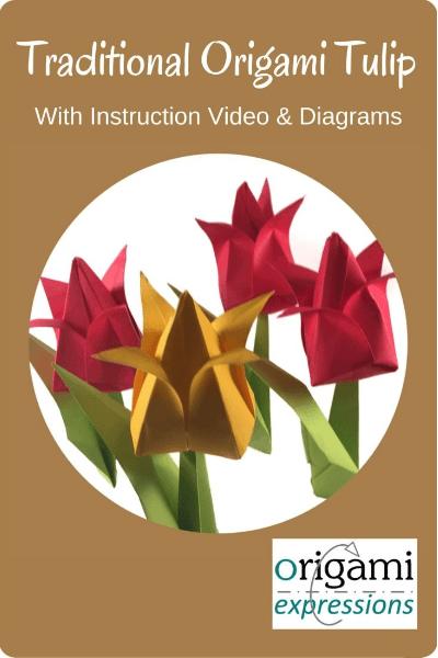 origami paper tulip