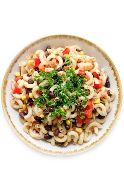Mexican gluten free pasta salad