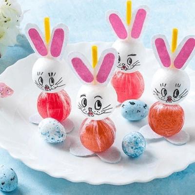 DIY Easter Bunny Lollipop