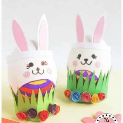 bunny eggs craft