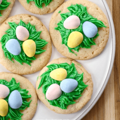 birds nest sugar cookies