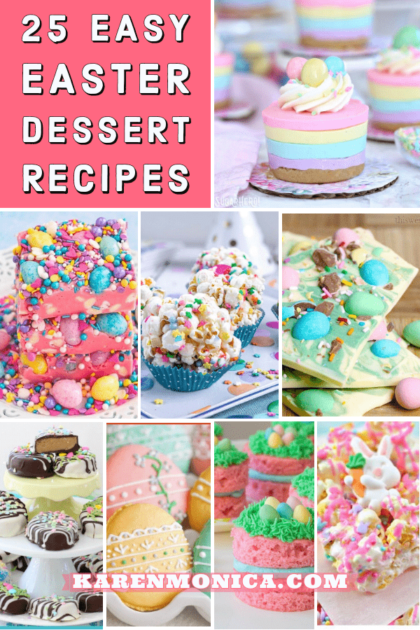 25 Easy Easter Dessert Recipes