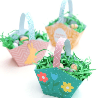 The easiest Easter baskets ever